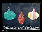 Baubles and Bangles Wall Art