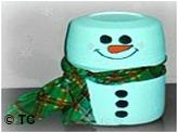 Kool Aid Snowman