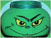grinch candy jar