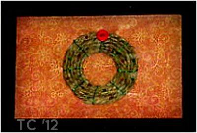 Hemp Xmas Wreath