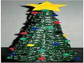 pop tab christmas tree