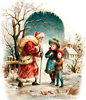 Red White Santa