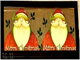 Santa Wall Art Craft