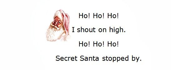 Playful little sayings to add to Secret Santa gifts*