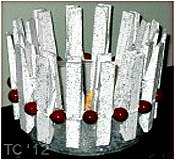 Clothespin Candle Holder