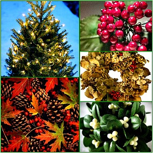 Country Christmas Collage