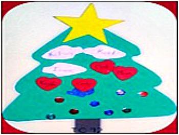 foam christmas tree