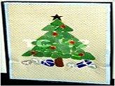 Sea Glass Christmas Tree
